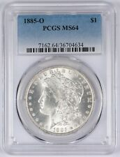 1885-O Morgan Silver Dollar S$1 PCGS MS64 BU Unc