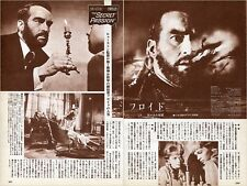 MONTGOMERY CLIFT SUSANNAH YORK Freud The Secret Passion 1964 JPN Clippings #EE/Y