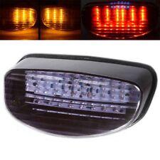 Smoke LED Tail Light Turn Signal Fit Honda CBR1100XX 97 Suzuki GS500E 1999-2002