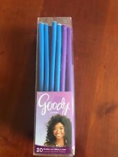 Goody GO CURL FLEXIBLE ROD HAIR ROLLERS 2 SIZES 20 count SOFT & COMFORTABLE