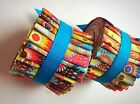 2.5 inch Fizzy Pop Jelly Roll 100% cotton fabric quilting strips
