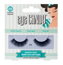 Eye Candy 50's Style DOUBLE Lashes - 304 - False Eyelashes with Glue Adhesive