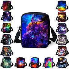 Galaxy Space Women Handbag Tote Small Messenger Shoulder Bag Cross Body Bags