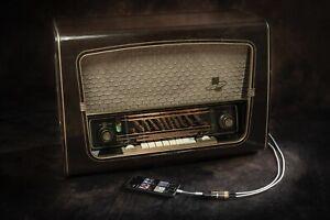 AEG Super 3D 4075 WD Röhrenradio mit Iphone Anschluss