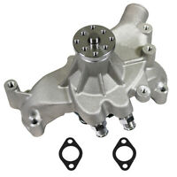 For BBC Big Block Chevy 454 High Volume Aluminum Long Water Pump Satin Finshed
