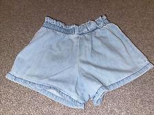 Girls Next Denim Loose Shorts Age 5-6
