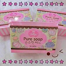 Pure Soap Jellys Whitening Skin Aging Gluta Anti Body- Beauty Lightening White+.
