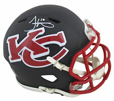Chiefs Tyreek Hill Authentic Signed Amp Speed Mini Helmet BAS Witnessed