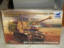 Bronco 1/35 Scale 7.5cm Pak40(SF0 Auf Geschutzwagen 39(F) - Factory Sealed
