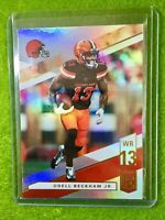 ODELL BECKHAM JR BROWNS JERSEY #13 REFRACTOR Baker Mayfield 's WR 2019 Elite #24
