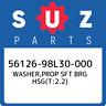 56126-98L30-000 Suzuki Washer,prop sft brg hsg(t:2.2) 5612698L30000, New Genuine