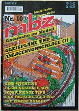Modellbahn Zeitschrift mbz 10 Eisenbahn im Modell Gleispläne Anlagen Vorschläge