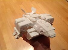 Dropship from Starship troopers. 3D-printed. Assembled. Unpainted