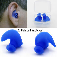New Soft Ear Plugs Silicone Waterproof Dust-Proof Diving Water Swimming Earplugs