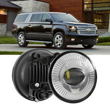 AUXBEAM LED Fog Light Chrome fit Chevy Suburban 1500 Tahoe GMC Yukon XL 07-14