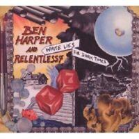 BEN & RELENTLESS 7 HARPER - WHITE LIES FOR DARK TIMES  CD 11 TRACKS BLUES NEW