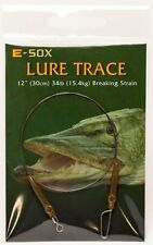 Drennan E Sox Lure Trace Pike wire Fishing Trace
