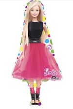 "Barbie 42"" Anagram Balloon Birthday Party Decorations"