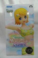 Project Diva KAGAMINE RIN Miracle Star Resort Super Premium Figure NIB