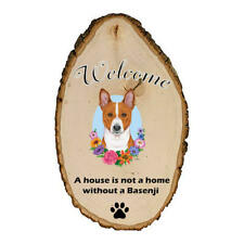 Basenji Welcome Outdoor Breed Sign