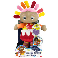 IN THE NIGHT GARDEN SNUGGLY SINGING UPSY DAISY WITH SOUND  30CM