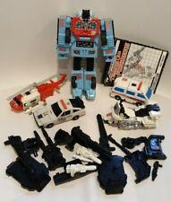Transformers G1 Combiner Defensor Protectobots Bundle Accessories instructions