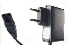 2 Pin Spina Caricabatterie Adattatore per Philips Rasoio Rasoio modello hq7390