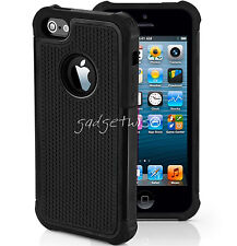Soft Shockproof Hard Back Dual Layer Case Cover For Apple iPhone X 4 5 5C 6 7 8