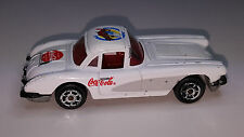 1997 MAJORETTE 200 SERIES COCA COLA 1958 CORVETTE DIECAST 1/64 RADIO GRILL NEW