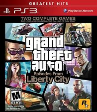 GRAND THEFT AUTO: EPISODES FROM LIBERTY CITY (GH) NEW & FACTORY SEALED SONY PS3