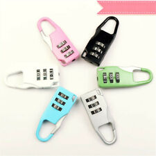 Security 3 Digit Combination Travel Suitcase Luggage Bag Mini Code Lock Tool