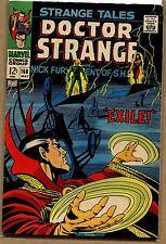 Strange Tales #168 - Exile! - 1968 (Grade 7.5) WH