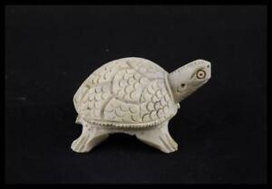 Figurina Statuetta Tartaruga IN Pietra IN Promo Promozione Macchia Su Testa Gl