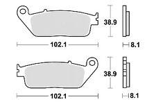 Jeu 2 plaquette de frein Avant de qualité HONDA VFR 750 F RC24 RC36 1988-1997