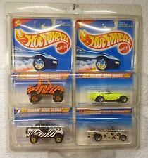 1995 HOT WHEELS ROARIN' RODS SET - Roll Patrol/ Street Roader/ Cobra/ Mini Truck