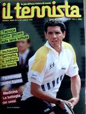 Il tennista n°137 1990 - Personaggi Andre Agassi  [GS35]
