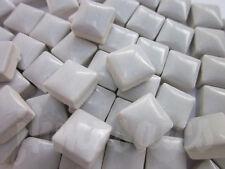 100pcs - 110grams Micro Ceramic Mosaic Tiles Light Grey BZ3