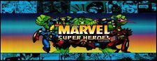 "Arcade Classics marvel heroes Marquee Multicade Art Sticker 18"" × 7"" (01807)"
