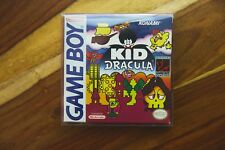 Kid Dracula Nintendo Game Boy 1993 CIB Complete Box Manual Very Good AUTHENTIC 2