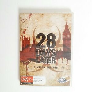 28 Days Later DVD Movie Free Post Region 4 AUS - Horror Zombies Limited Edition