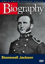 BIOGRAPHY: STONEWALL JACKSON (A&E DOCUMENTARY) NEW AND SEALED