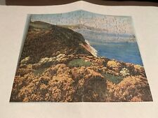 C1940 Chad Valley Wooden Jigsaw Puzzle Glorious Devon 150 Pcs Complete Orig Box