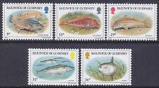 Guernsey 1985 Fish Set UM SG332-6 Cat £3.25