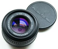 ZEISS MANUFACTURED PRAKTICA BAYONET / PB MOUNT PENTACON MC 50mm f/1.8 PRIME LENS