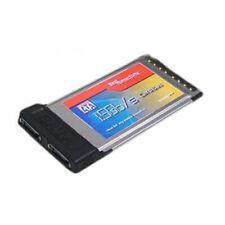SYBA 2-Port Serial ATA SATA PCMCIA CardBus Card