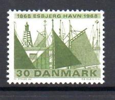 Denmark Mnh 1968 Sg491 Centenary Of Esbjerg Harbour