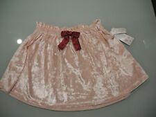 Nwt Girl'S 365 Kids From Garanimals Pink Velour Plush Skirt Kids Size 8 New