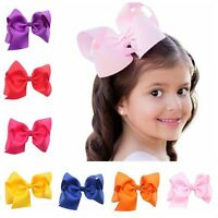 Girls Hair Accessories Ribbon Boutique Hairpin Big Bow-knot Baby Hair Clip