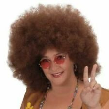Brown Afro Wig Costume halloween party dress up prop