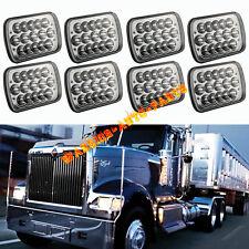 8X LED Headlights For International IHC Headlight Assembly 9900 9400i 9200 8PCS